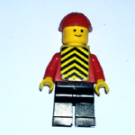 Lego 6647 Highway repair  minifigure complete vgc 1980 @sold@
